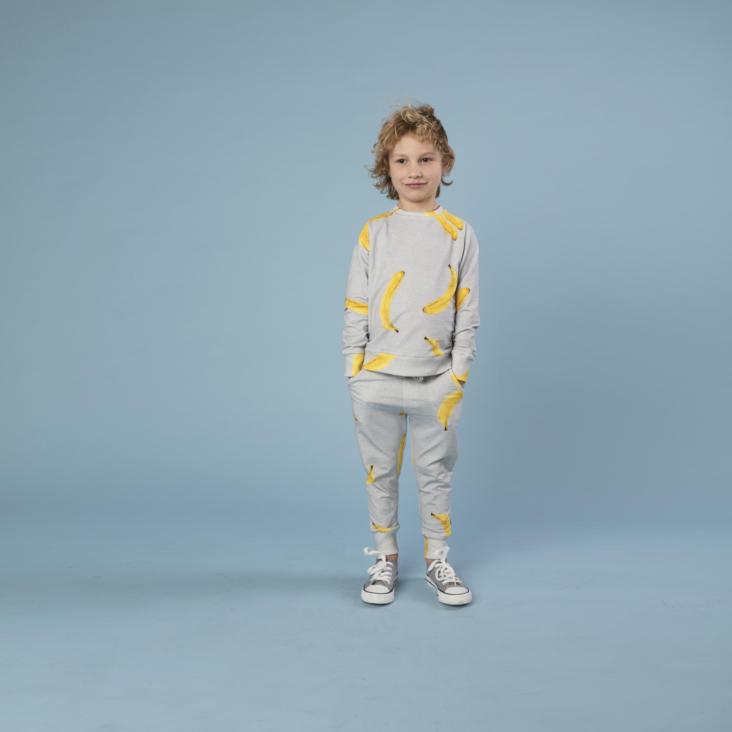 Свитер и штаны для мальчиков Бананово-Серый (13-14 лет) фото