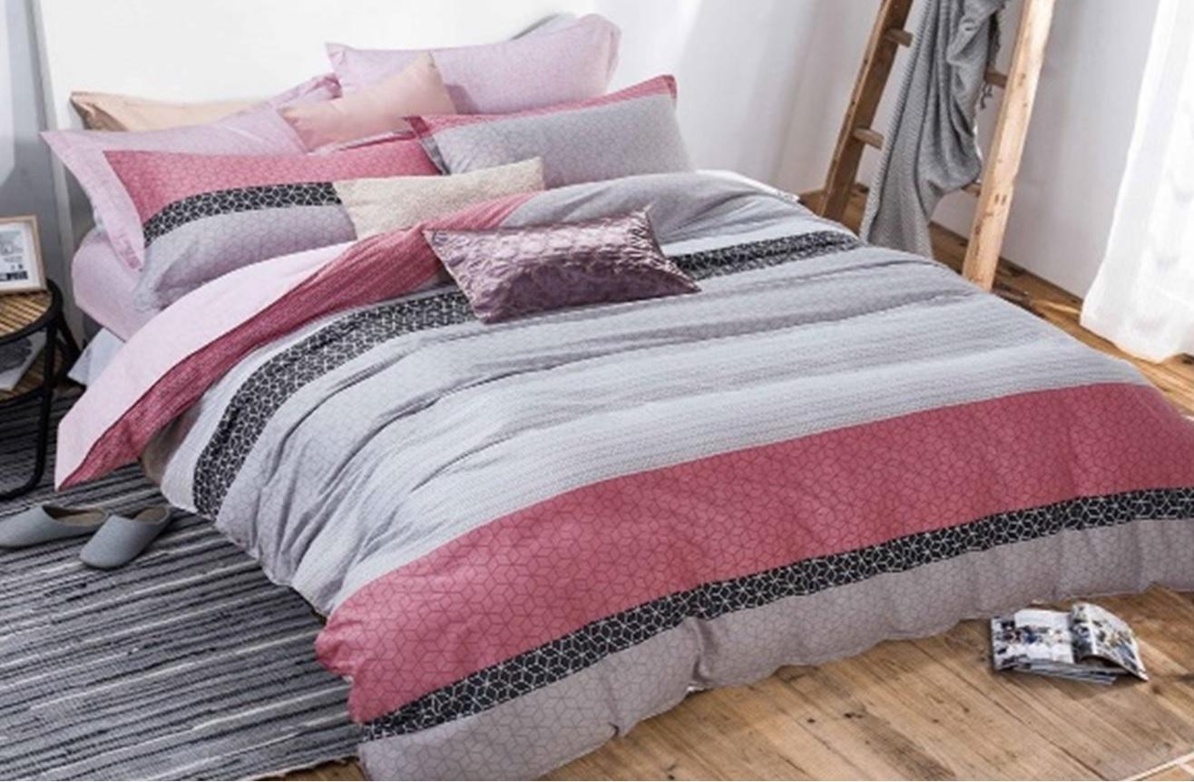 Комплекты постельного белья Dome, Постельное белье Queen (1, 5 спал.), Дания, Хлопковый сатин  - Купить
