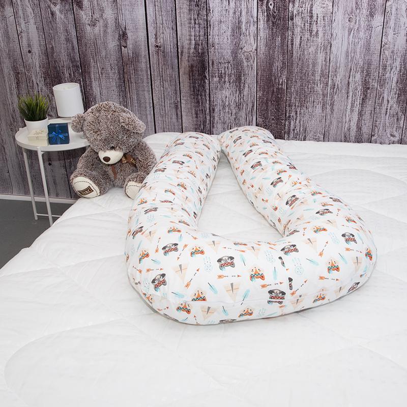 Наволочка к подушке для беременных Индейцы (25х300 (1 шт))