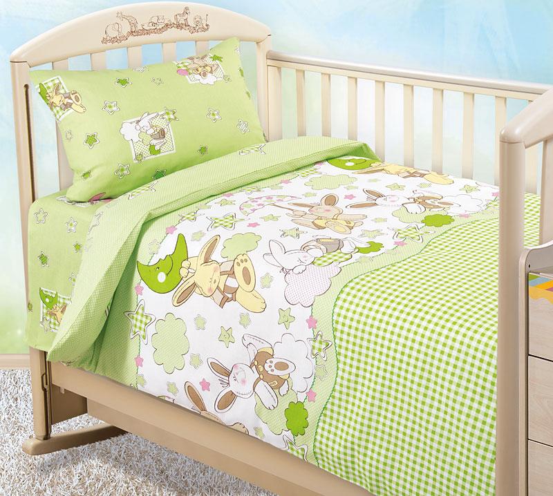 Детское Постельное белье Diamond Цвет: Зеленый (112х147 см) фото