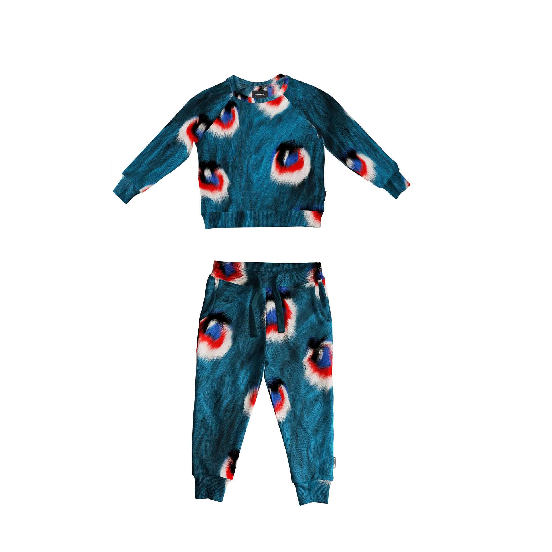 Свитер и штаны для мальчиков Перья Павлина (5-6 лет) фото
