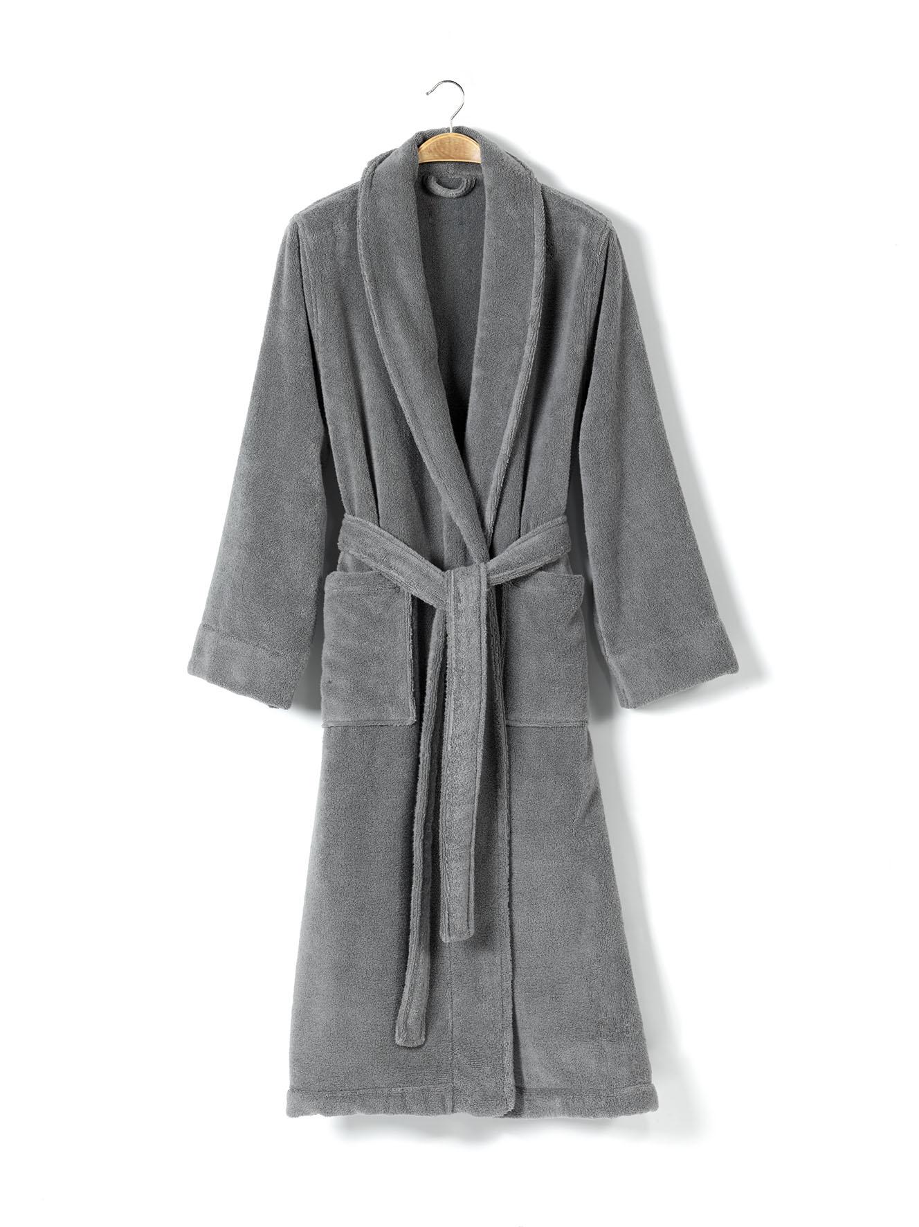 Банный халат Chicago Цвет: Темно-Серый (M) CASUAL AVENUE cae365161