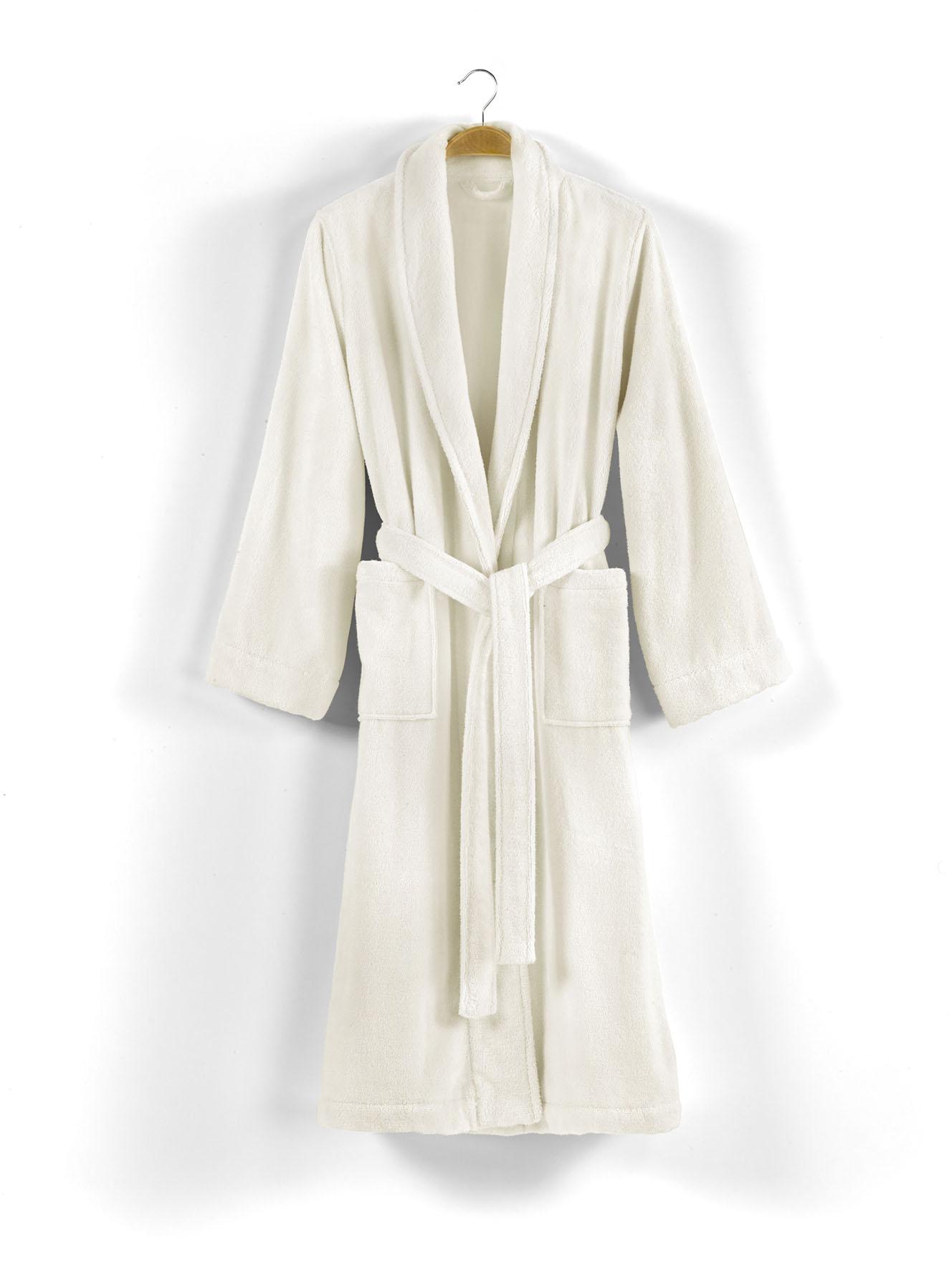 Банный халат Chicago Цвет: Слоновая Кость (S) CASUAL AVENUE cae365170