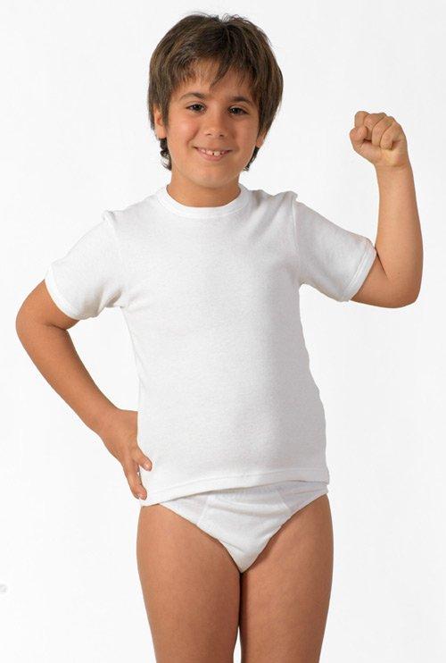 Детская футболка Suzanna Цвет: Белый (5-6 лет) фото