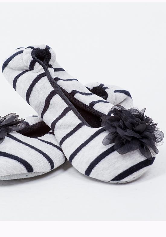 Домашние тапочки-балетки Hosannah Цвет: Серый (36-37) фото