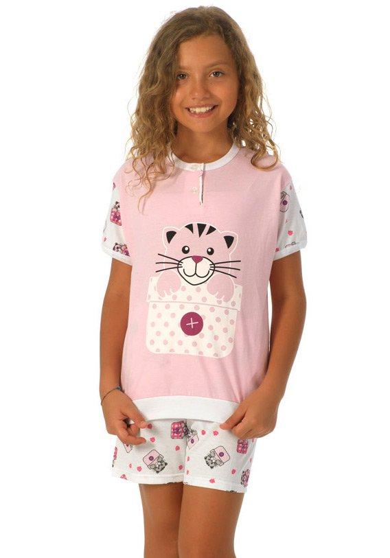 Детская пижама Mitch Цвет: Розовый (3 года) фото