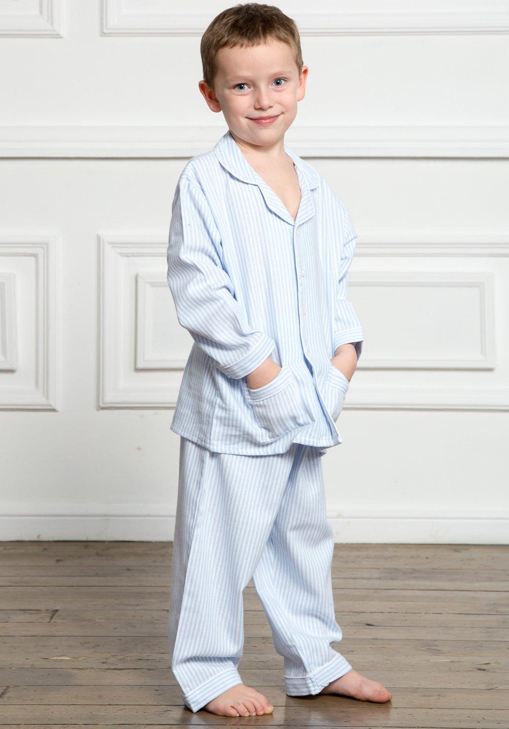 Детская пижама Mattithiah Цвет: Голубой (10 лет) фото