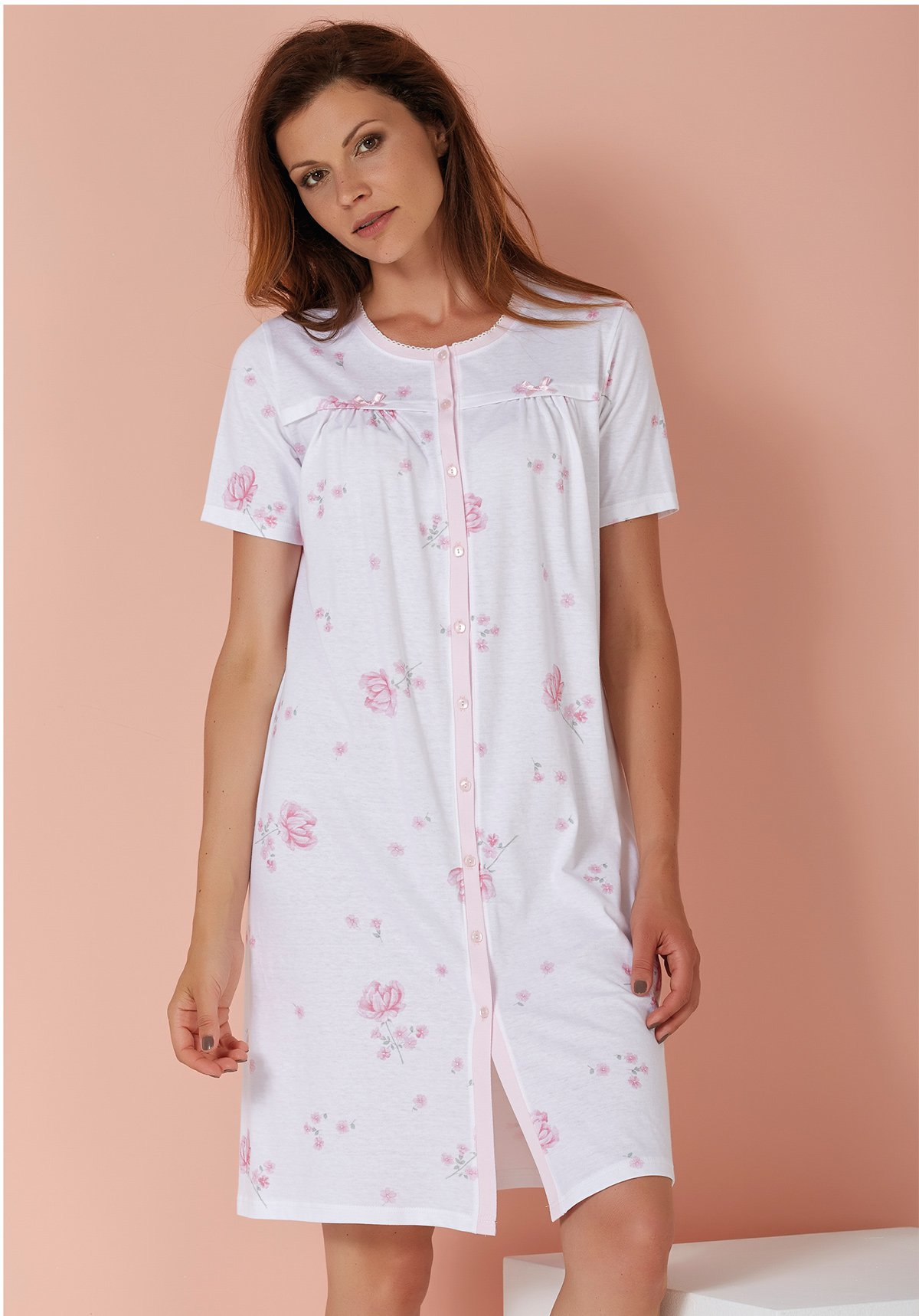 Ночная сорочка Jaydon Цвет: Белый (58) Vilfram vilf507501