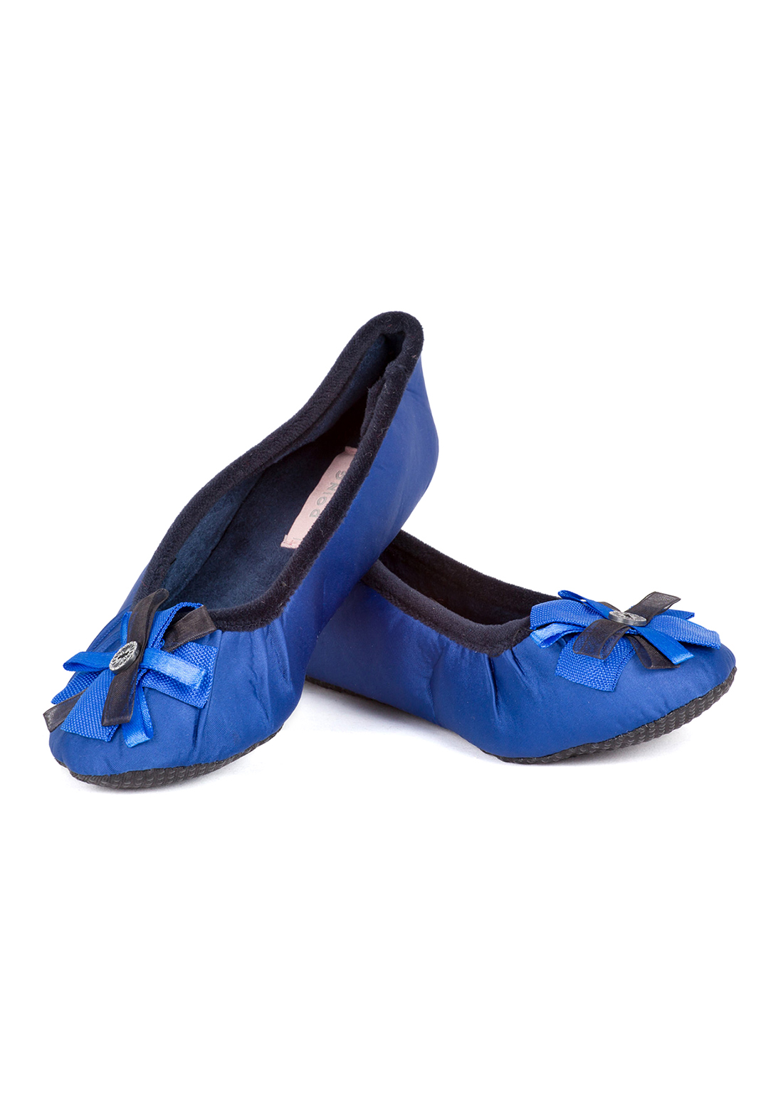 Домашние тапочки-балетки Laidey Цвет: Синий (36-37) фото