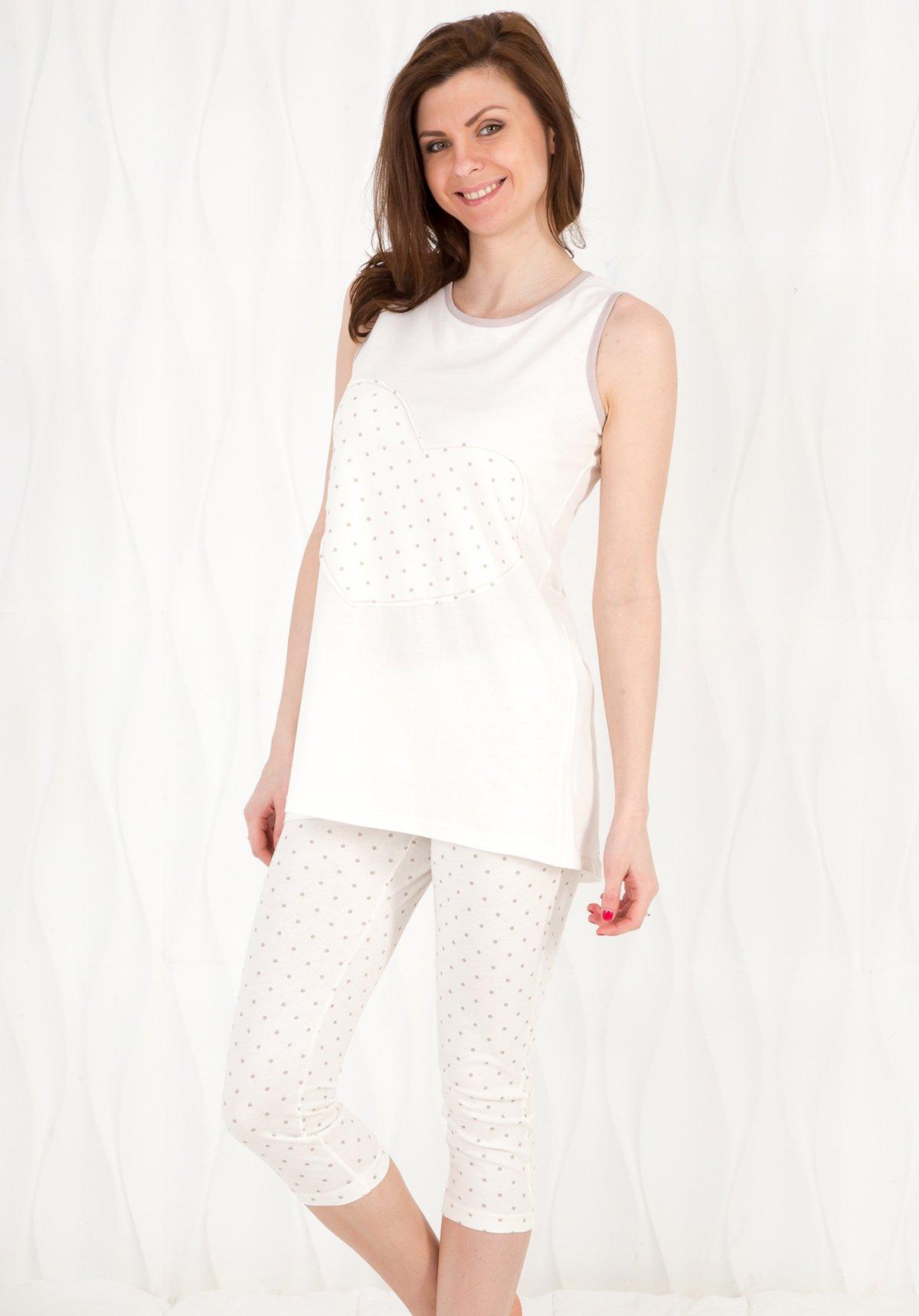 Пижама Naomi Цвет: Кремовый (46) Vilfram vilf507856