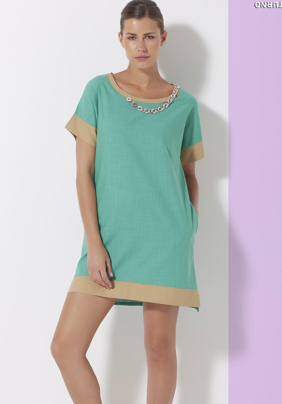 Платье Shine Цвет: Зеленый (42) Sunnyday sunn508280