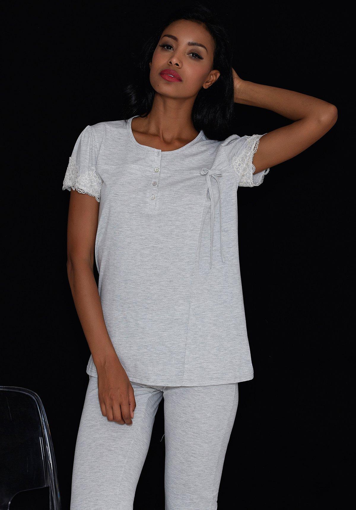 Пижама Coffee Цвет: Серый (54) Manam man508485