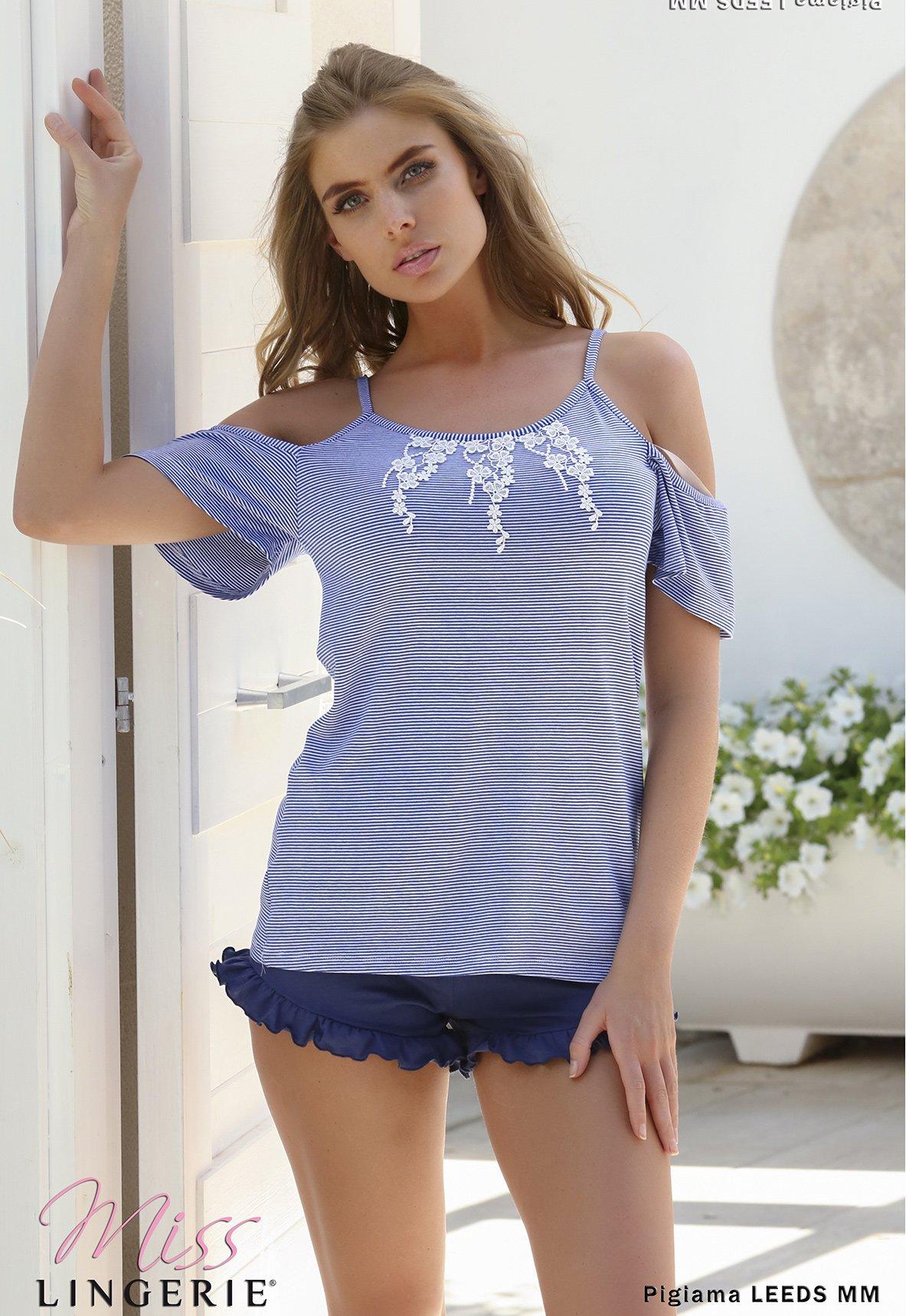 Пижама Bonnie Цвет: Голубой (40) Miss Lingerie mis508489