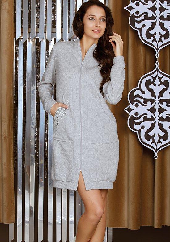 Домашний халат Destan Цвет: Серый (46) Manam man508517
