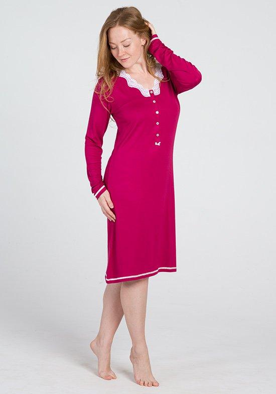 Ночная сорочка Aysegul Цвет: Малиновый (48) Vilfram vilf508564