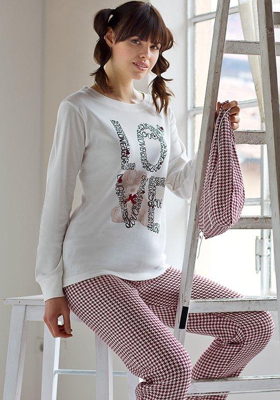 Пижама Lena Цвет: Кремовый (48) Pop corn pop508792