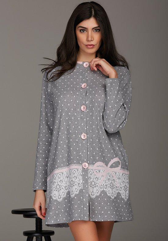 Домашний халат Veneto Цвет: Серый (48) Vilfram vilf509005