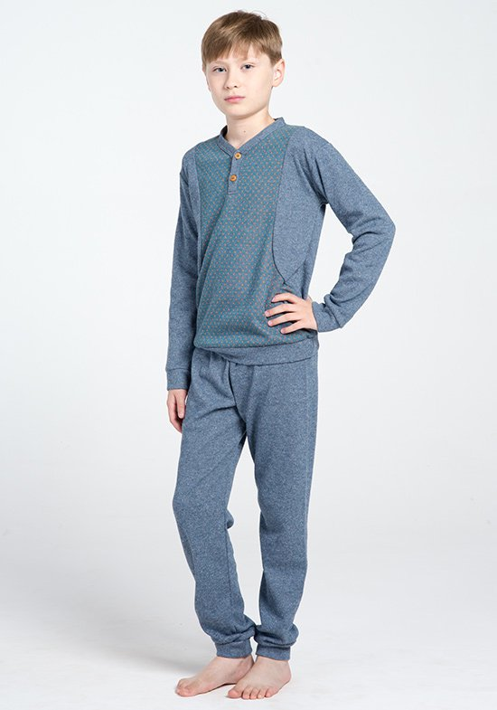 Детская пижама Mood Цвет: Голубой (4 года) фото