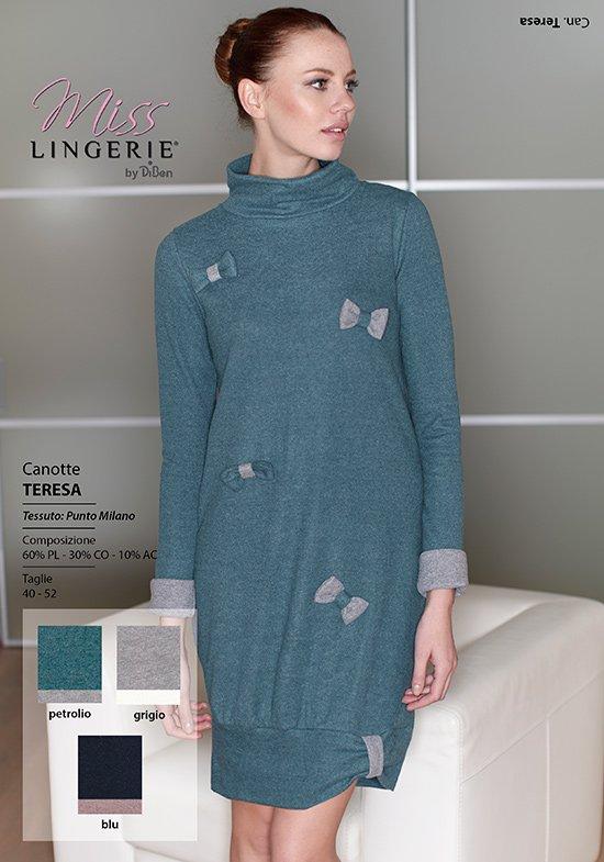 Платье Zoe Цвет: Зеленый (46) Miss Lingerie mis509180