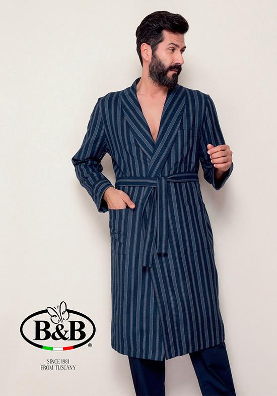 Домашний халат Minicat Цвет: Синий (48) фото