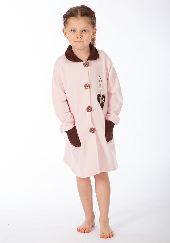 Детский банный халат Flash Цвет: Розовый (9 лет) фото