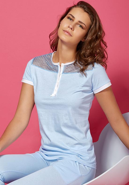 Пижама Dynamic Цвет: Голубой (48) Vilfram vilf509854