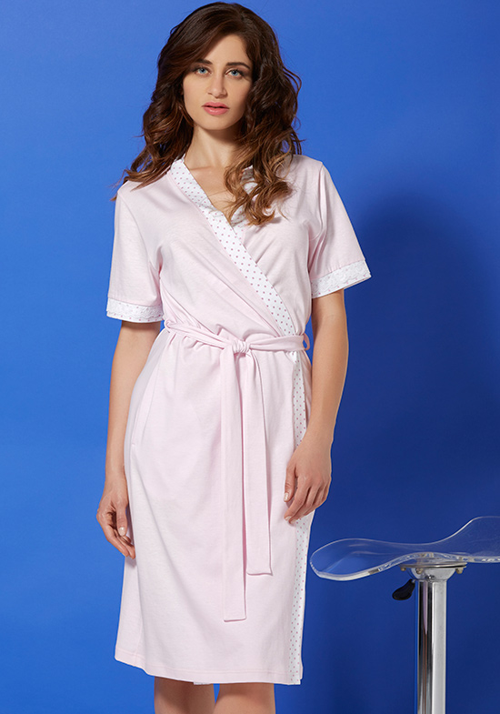 Домашний халат Skyler Цвет: Розовый (42) Vilfram vilf509890