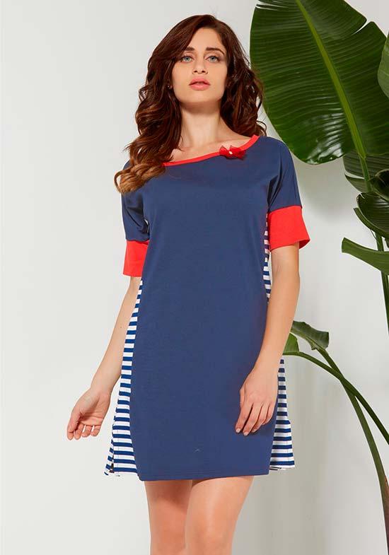 Платье-футболка Rapillon Цвет: Голубой (50) Vilfram vilf510182