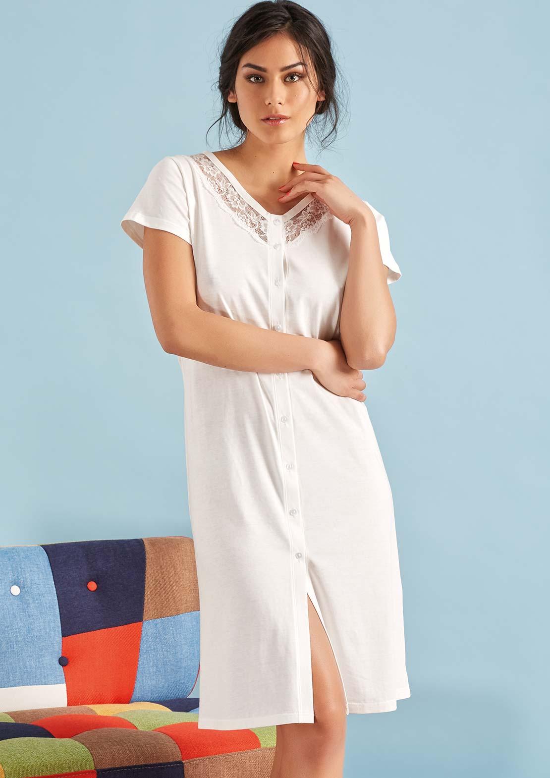 Ночная сорочка Fernanda Цвет: Кремовый (50) Vilfram vilf510631