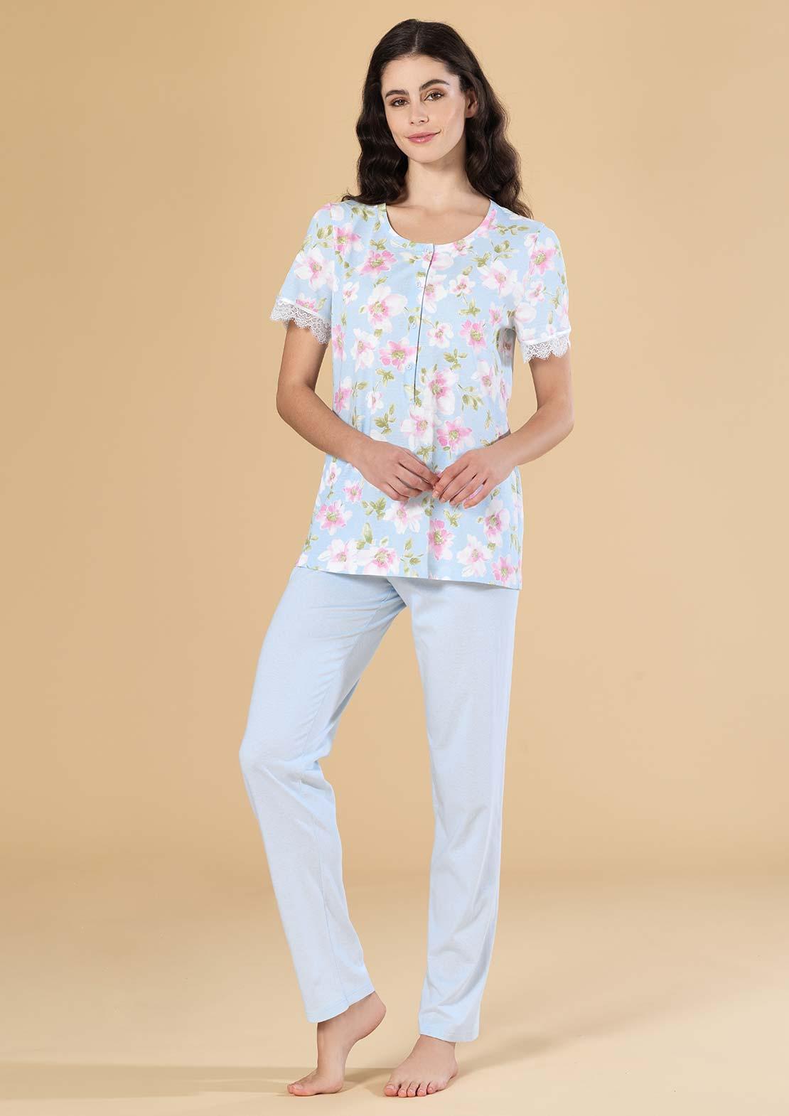 Пижама Cashmire Цвет: Голубой (56) Linclalor lin510704
