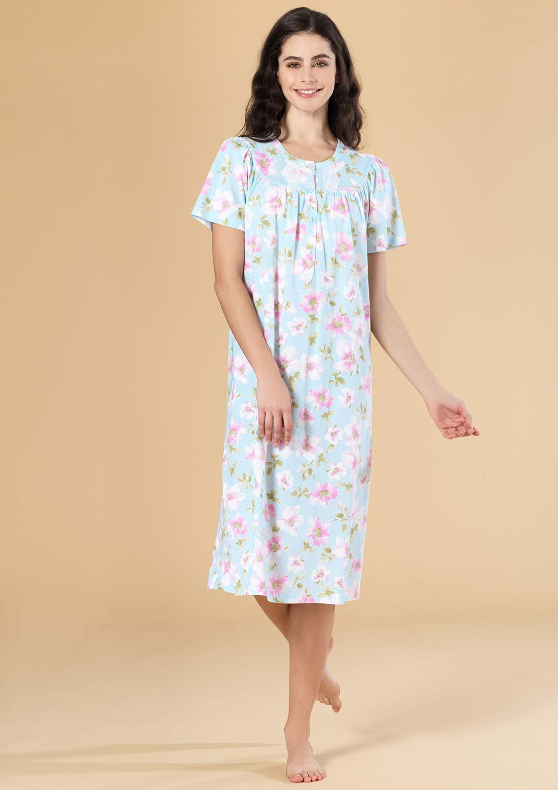 Ночная сорочка Eda Цвет: Голубой (52) Linclalor lin510711