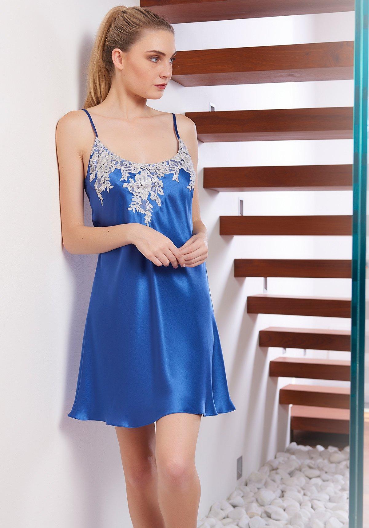 Ночная сорочка Joktan Цвет: Синий (42) фото