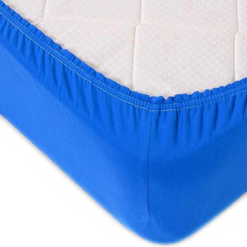 Простыня на резинке Emmanuel Цвет: Синий (180х200) фото