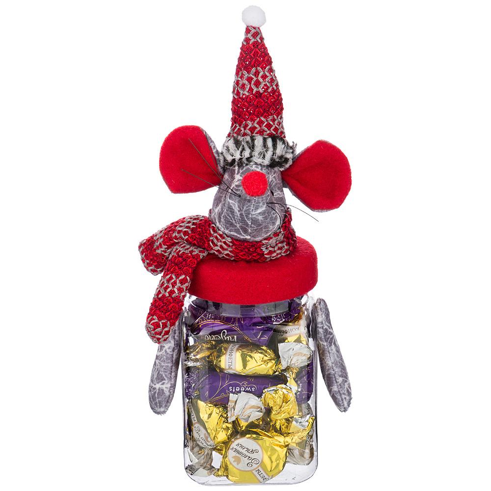 Подарочная упаковка Веселые Мышки (7х7х20 см) Lefard lfr584615