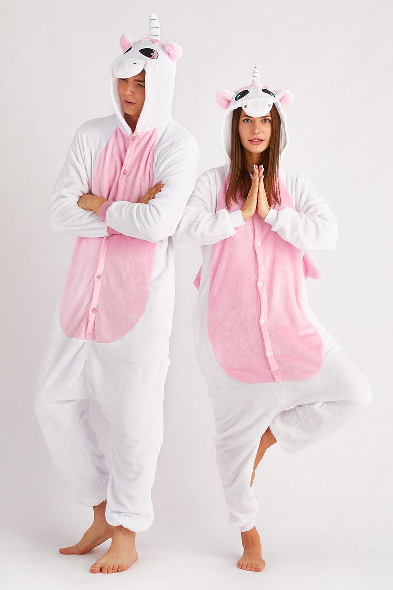Пижама-кигуруми Пегас Цвет: Розовый (L).