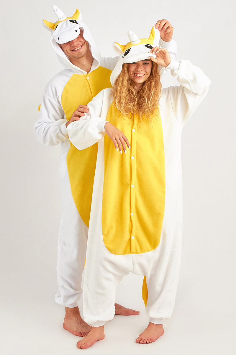 Пижама-кигуруми Пегас Цвет: Желтый (xL) фото