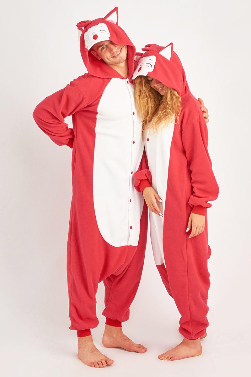 Пижама-кигуруми Красная Лиса (xL).
