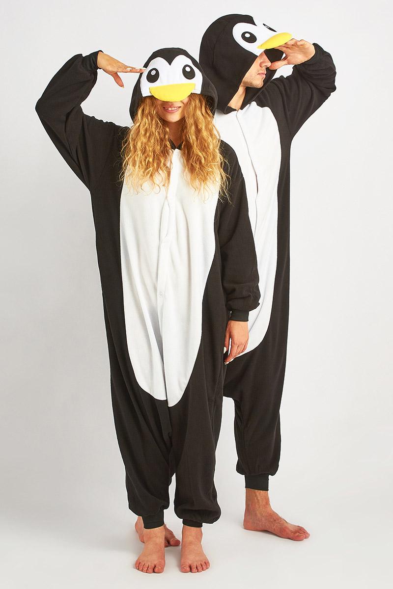 Пижама-кигуруми Пингвин (xL).