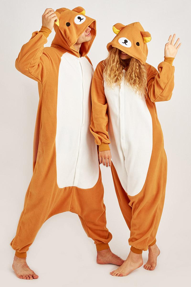 Пижама-кигуруми Медведь (S).