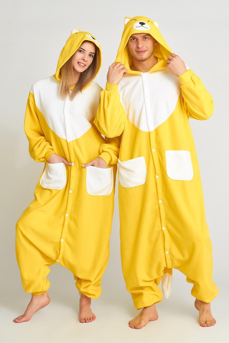 Пижама-кигуруми Желтая Лиса (L).