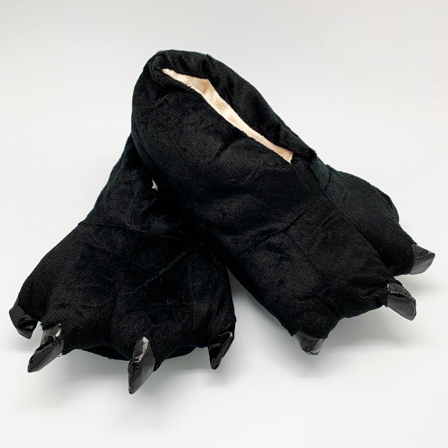 Тапки-лапки Tamra Цвет: Чёрный (39-42) BearWear bwr610282