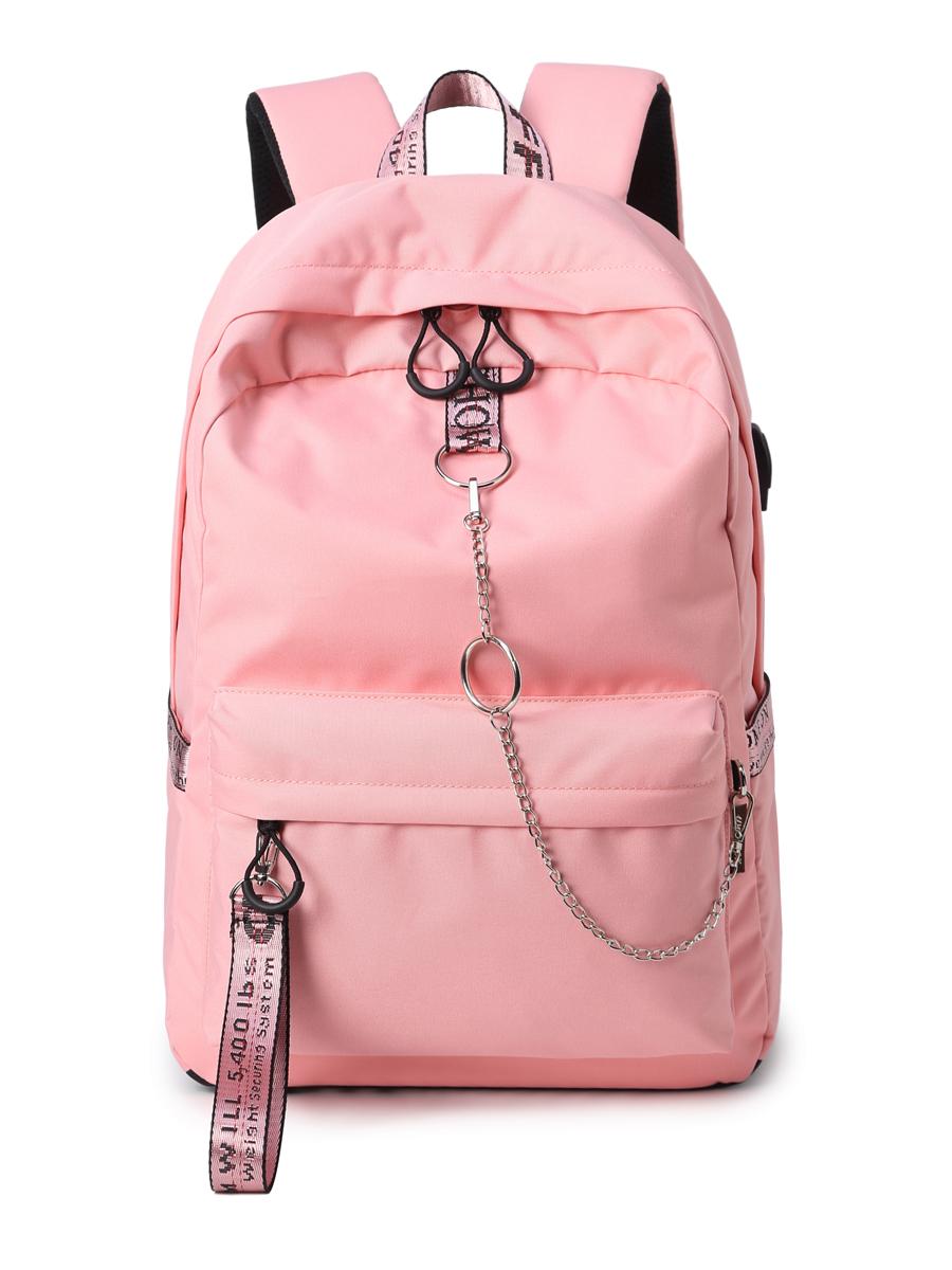 Рюкзак Молодёжный Цвет: Розовый (13х30х40 см) Blinky bky612644