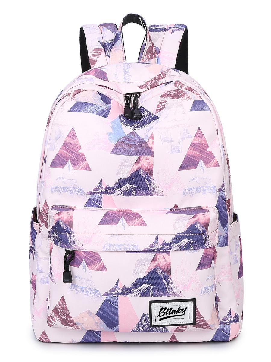 Рюкзак Горы Цвет: Розовый (13х30х40 см) Blinky bky612646