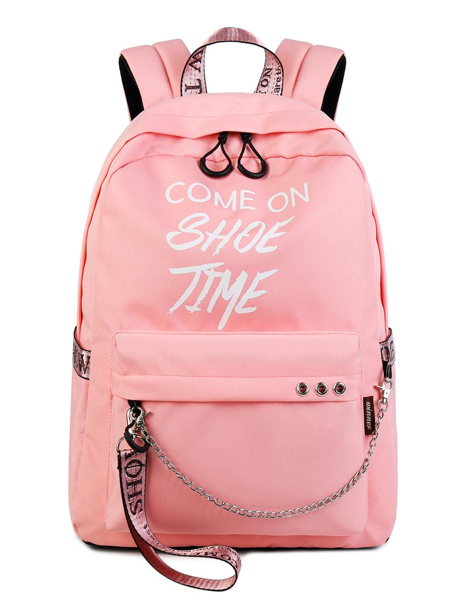 Рюкзак Come On Show Time Цвет: Розовый (13х30х40 см) Blinky bky612649