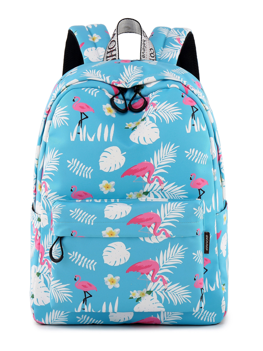 Рюкзак Фламинго Цвет: Синий (13х30х40 см) Blinky bky612656