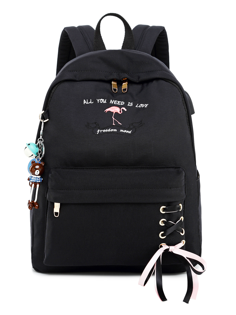 Рюкзак Freedom Mood Цвет: Чёрный (13х30х40 см) Blinky bky612660