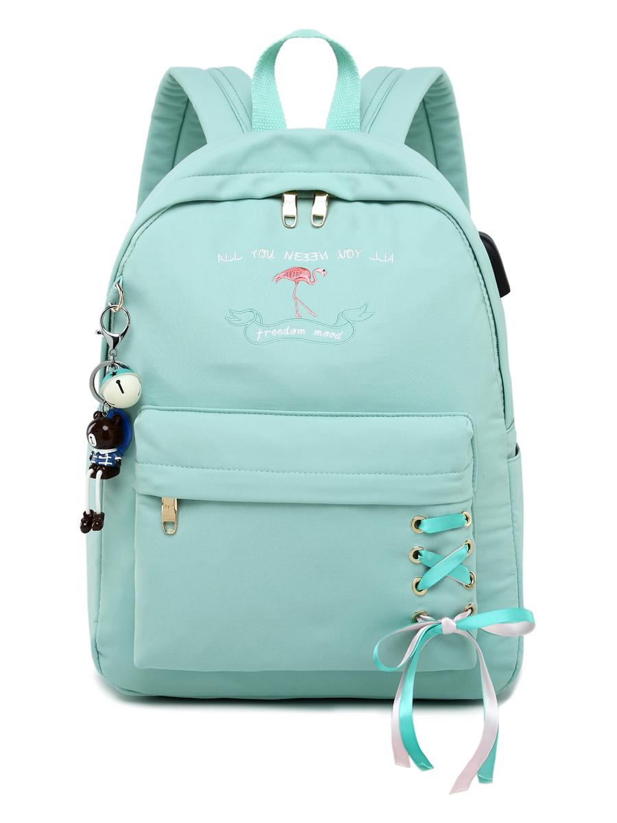 Рюкзак Freedom Mood Цвет: Мятный (13х30х40 см) Blinky bky612661