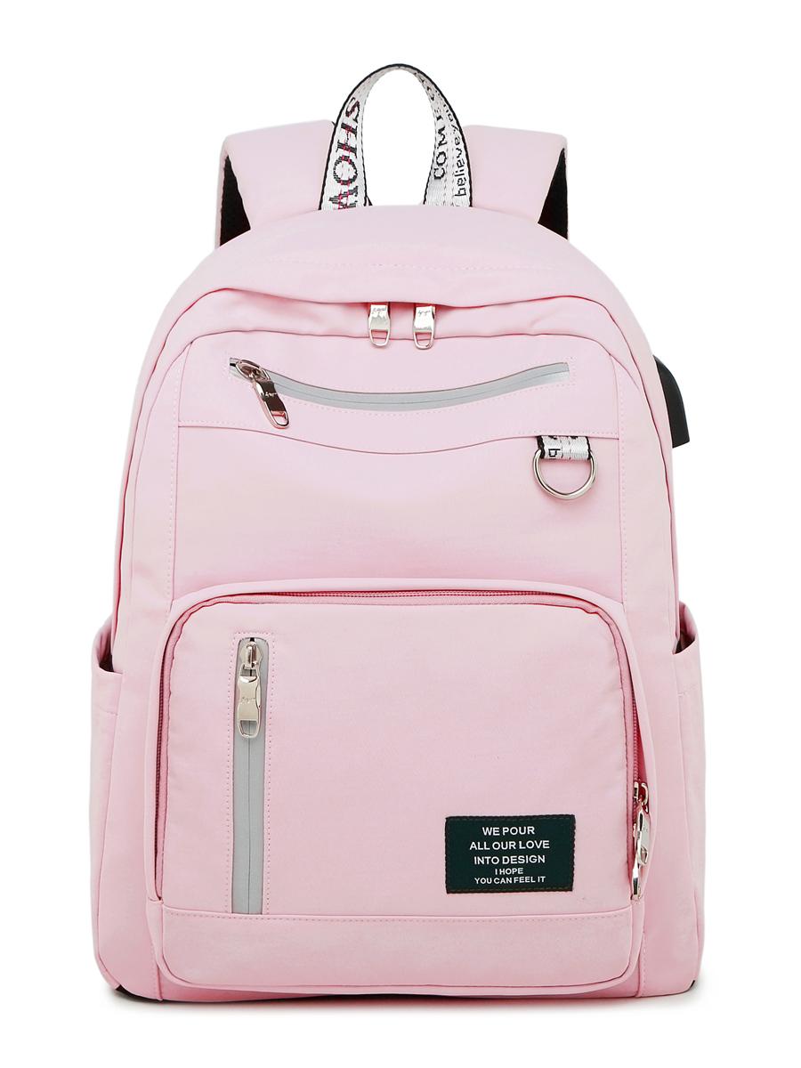 Рюкзак Спорт Цвет: Розовый (13х30х40 см) Blinky bky612675
