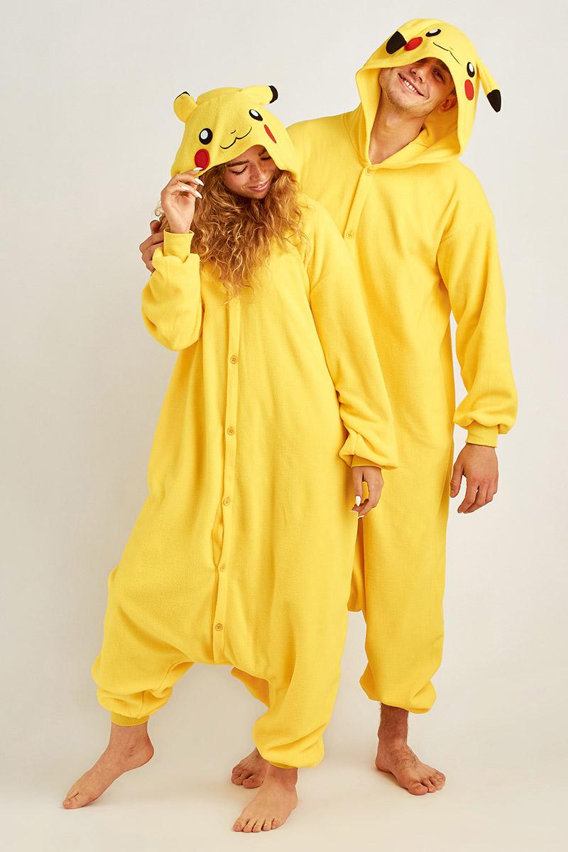 Пижама-кигуруми Пикачу (S).