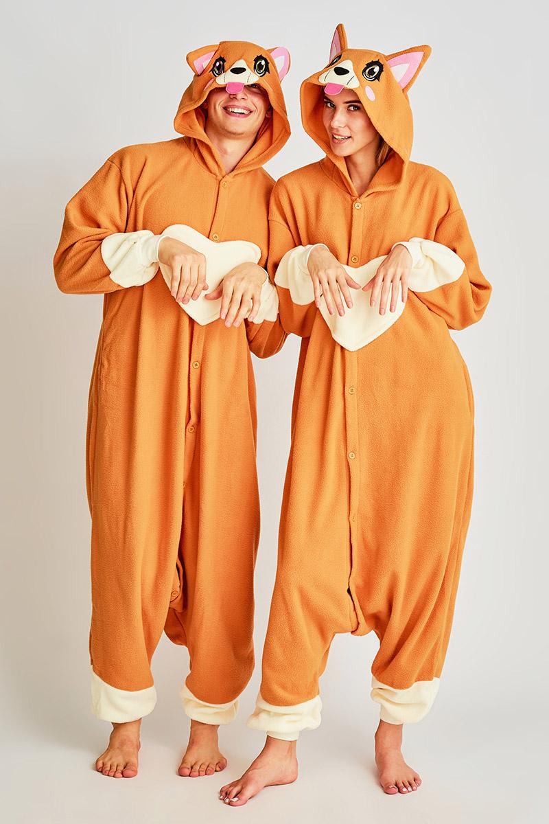 Пижама-кигуруми Собака Корги (S) фото